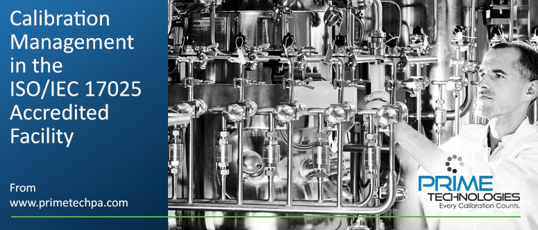 Calibration Management ISO-IEC-17025